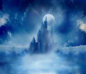 Halloween Spooky castle