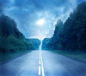 Moon road