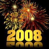 2008 New Year Fireworks