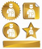 bellboy set gold