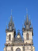 Church Of Our Lady In Front Of Tyn.