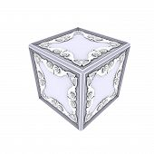 foto of ube  - 3d Illustration of the safe for expensive jewelry - JPG