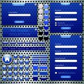 Blue Web Template