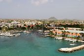 Tropical Harbor On Aruba