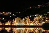 Wellington  At Night - New Zealand