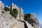 Постер, плакат: Medieval Venus Castle In Erice Sicily