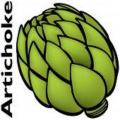 An image of a artichoke.