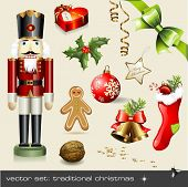 image of nutcracker  - vector set - JPG
