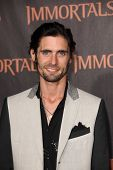 LOS ANGELES - NOV 7:  Tyson Ritter arrives at the