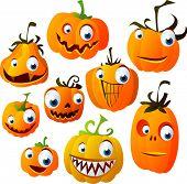 vector Halloween set 4