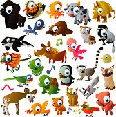 picture of platypus  - extra bid vector animal set - JPG