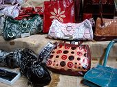 Handbags At The Market