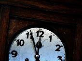 Old Clock Half