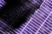Grunge Dirty Ultra Purple Steel Ground Lattice. Stainless Steel Texture, Background For Web Site Or  poster