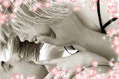 Monochrome Fondness With Flowers #2
