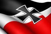 Flagge des Deutschen Reiches (national und Merchant Flag)