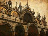 Grunge image of Venice, Italy