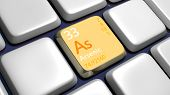 stock photo of arsenic  - Keyboard  - JPG