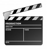 film maker clapper board