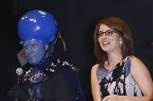 SAN DIEGO - JULY 22: Will Ferrell, Tina Fey at a panel for the movie 'Megamind' on Day 1 of Comic-Co