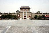 Innenstadt von Xian, Zugbrücke und Stadtmauern