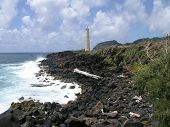 Lihue Coastline And Lighthouse