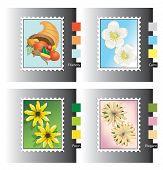 Seasonal Stamp Icons