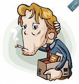Cartoon Series: desempregado