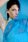 Fabulous Blue Eyes Gazing