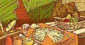Food mural