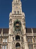 Glockenspiel Close Tower Munich