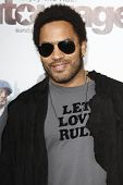 LOS ANGELES - JUNE 16: Lenny Kravitz at the premiere of 'Entourage' held at Paramount Studios on Jun