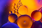 Abstract Molecule Sctructure. Macro Shot Of Air Or Molecule. Abstract Background. Space Or Planets A poster