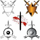 Schwert-Symbole