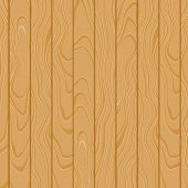 Cartoon Square Vector Background With Wooden Boards. Backdrop Of Wood Planks poster
