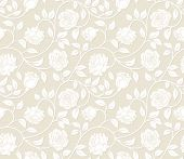 Roses seamless background - pattern for continuous replicate. See more seamless backgrounds in my portfolio.