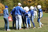 Football Coaching Huddle Strategy