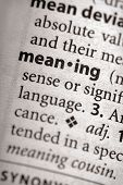 Dictionary Series - Philosophy: Meaning