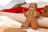 Making Delicious Gingerbread Men