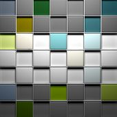 Colorful blocks structure background