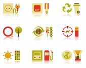 Saving Natural Resources Icon Set