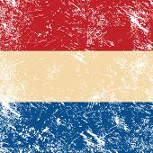 Holland retro flag