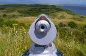 Telescope Near Shoreline