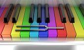 The Multicoloured Piano