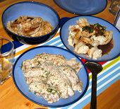 Three Fish Dishes