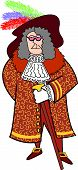 Renaissance Edwardian Man Clip Art