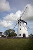 stock photo of anglesey  - Only Working Windmill on Anglesey North Wales - JPG