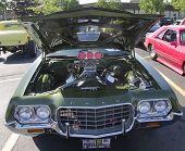 1970's Ford Gran Torino Sport Engine