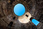 Under Diocletian Mausoleum Dome In Split, Croatia