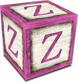 Alpha Block Z Pink